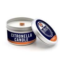 NHL Edmonton Oilers 5.8 oz. Citronella Tailgating Candle