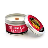 NHL Chicago Blackhawks 5.8 oz. Citronella Tailgating Candle