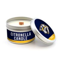 NHL Nashville Predators 5.8 oz. Citronella Tailgating Candle