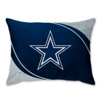 NFL Dallas Cowboys Curve Raschel Standard Bed Pillow