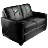 NBA Milwaukee Bucks Silver Loveseat with Alternate Logo