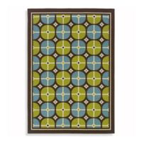 Oriental Weavers Caspian 2-Foot 5-Inch x 4-Foot 5-Inch Indoor and Outdoor Rug in Blue/Green