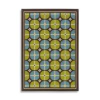 Oriental Weavers Caspian 2-Foot 3-Inch x 7-Foot 6-Inch Indoor/Outdoor Rug in Blue