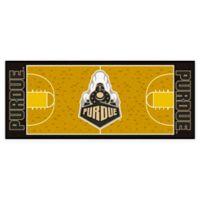 "Purdue University Basketball Court 72"" x 30"" Runner"
