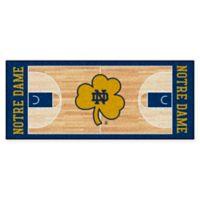 """University of Notre Dame Basketball Court 72"""" x 30"""" Runner"""