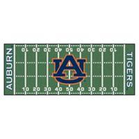 "Auburn University Football Field 72"" x 30"" Runner"
