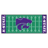 "Kansas State University Football Field 72"" x 30"" Runner"