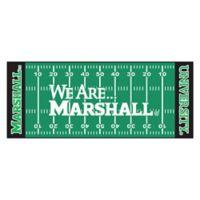 "Marshall University We Are Marshall Football Field 72"" x 30"" Runner"
