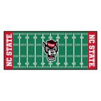 "North Carolina State University Football Field 72"" x 30"" Runner"