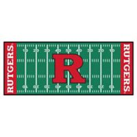 "Rutgers University Football Field 72"" x 30"" Runner"