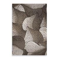 KAS Horizon Silver Fauna 3-Foot 4-Inch x 4-Foot 11-Inch Indoor/Outdoor Floor Mat