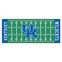 """University of Kentucky Football Field 72"""" x 30"""" Runner"""