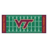 """Virginia Tech Football Field 72"""" x 30"""" Runner"""