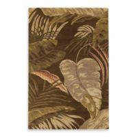 KAS Havana Rainforest 2-Foot 3-Inch x 8-Foot Rug in Mocha