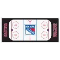 NHL New York Rangers Rink Carpeted Runner Mat