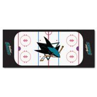 NHL San Jose Sharks Rink Carpeted Runner Mat