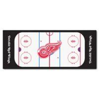 NHL Detroit Red Wings Rink Carpeted Runner Mat