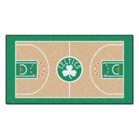 """NBA Boston Celtics Basketball Court 54"""" x 30"""" Runner"""