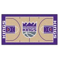 "NBA Sacramento Kings Basketball Court 54"" x 30"" Runner"