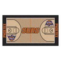 """NBA Phoenix Suns Basketball Court 44"""" x 24"""" Runner"""