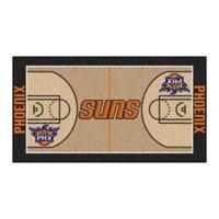 """NBA Phoenix Suns Basketball Court 54"""" x 30"""" Runner"""