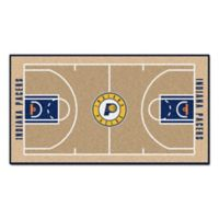 """NBA Indiana Pacers Basketball Court 44"""" x 24"""" Runner"""