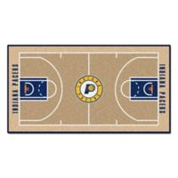"NBA Indiana Pacers Basketball Court 54"" x 30"" Runner"