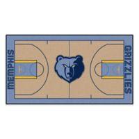 """NBA Memphis Grizzlies Basketball Court 54"""" x 30"""" Runner"""