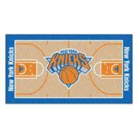 """NBA New York Knicks Basketball Court 44"""" x 24"""" Runner"""