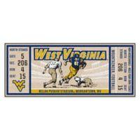 University of Virginia Game Ticket Carpeted Runner Mat