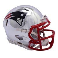 Riddell® NFL New England Patriots Chrome Series Speed Mini Football Helmet