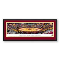 Loyola University Chicago Panoramic Print with Deluxe Frame
