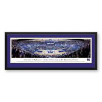 University of Washington Panoramic Print with Deluxe Frame