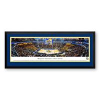 Marquette University Panoramic Print with Deluxe Frame