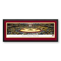 University Of Minnesota Panoramic Print with Deluxe Frame