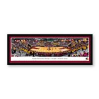 Loyola University Panoramic Basketball Arena Framed Wall Art
