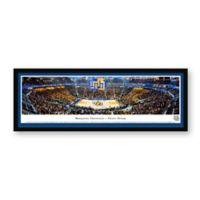 Marquette University Panoramic Basketball Arena Framed Wall Art