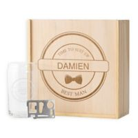Cathy's Concepts Best Man Beer Gift Box Set