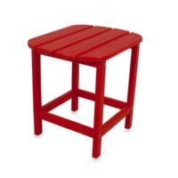 POLYWOOD® Folding Adirondack Side Table in Red