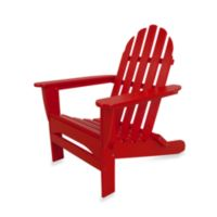 POLYWOOD® Folding Adirondack Chair in Red