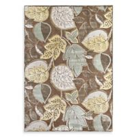Feizy Reflections Leaf 5-Foot x 8-Foot Area Rug