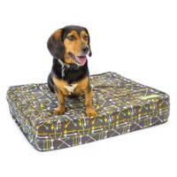 eLuxurySupply® Large Gel Memory Foam Orthopedic Dog Bed in Charcoal