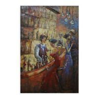 Tavern 3D 48-Inch x 32-Inch Iron Wall Art