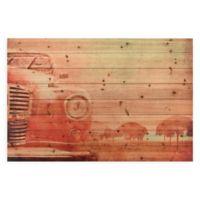 Old Car Wood Wall Art