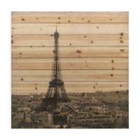 "Empire Art Direct ""Eiffel Tower"" Wood Wall Art in Natural"