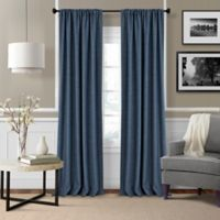 Pennington 95-Inch Rod Pocket Window Curtain Panel Pair in Blue
