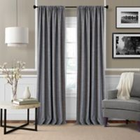 Pennington 84-Inch Rod Pocket Window Curtain Panel Pair in Grey