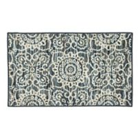 Mohawk Home Richmond Medallion 1'8 x 2'10 Accent Rug in Blue