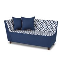 Tween Chaise in Loopy Navy