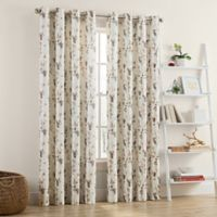 Priella 108-Inch Grommet Window Curtain Panel in Ivory